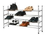 Шкаф 4 ботинок ярусов расширяемый