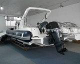 Liya 27FT costela barco com velocidade de cabina Yacht para venda