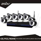 câmara de segurança sem fio do CCTV do IP do jogo de 960p 8CH WiFi NVR