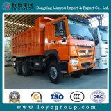 Camion à benne basculante de Sinotruk HOWO 6X4 371HP 20m3