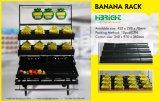 Supermarkt-Speicher-Frucht-Bananen-Bildschirmanzeige-Regal