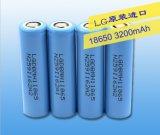 перезаряжаемые батарея иона лития 18650 батарей 3.7V3200mAh для LG
