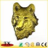 Магнит холодильника волка 3D наградных подарков сувенира зверинца животный