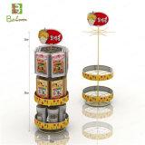 Visualizaciones libres rotativas del alimento de la venta al por mayor del metal del soporte
