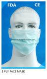 Het beschikbare Masker van het Gezicht van pp niet Geweven Zwarte