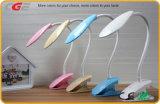 Lampe sans fil rechargeable de Tableau de l'éclairage DEL de clip d'étude de ccc 5V 1A