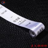 Lave a etiqueta etiqueta de tecido Etiqueta Impressão personalizada