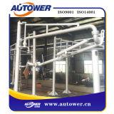 Premier bras de pression avec le système de reprise de vapeur