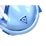 Máscara de mergulho com snorkel Facial Kids Snorkel máscara de mergulho facial completa