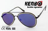 The Aviator moda óculos de sol com a barra superior Km17205