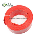 L'irrigation Layflat en PVC flexible avec la haute pression