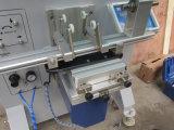 Impresora de la pantalla de TM-500e para la botella redonda plástica plateada de metal del tubo