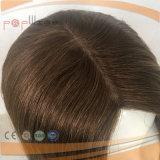 Encaje frontal Kosher peluca Sheitel cabello humano.
