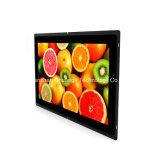 """가득 차있는 HD 15.6 """" LCD 접촉 스크린 프레임 모니터 전시"""