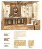 Mattonelle di ceramica interne della parete del materiale da costruzione di colore del Brown per la stanza da bagno