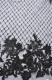 女性ののためのDressingおよびHometextileビードが付いている網の刺繍ファブリック