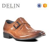 El tamaño de cuero auténtico 41-46 zapatos de vestir para caballero