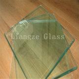 vidrio de flotador claro fino de 1.6m m para el vidrio automotor