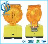 Ce и утвержденных RoHS солнечной светодиод Желтый мигание сигнальной лампы