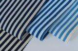 ткань джинсовой ткани Spandex полиэфира хлопка нашивки индига 8.5OZ