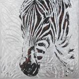AluminiumÖlgemälde für Zebra