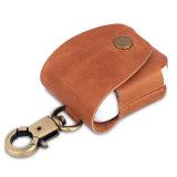 Футляр из натуральной кожи крышки защитная сумка для наушников Apple Airpods
