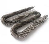 Chauffage à ailettes en acier inoxydable tubulaire des éléments de chauffage à air forcé