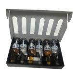 6 Flaschen-Kasten kundenspezifischer gewölbter Verschiffen-Kasten