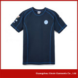 T-shirt en gros de chemises de coton peigné par 100% de qualité long (R156)