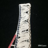 le collier de lacet de coton de mode de broderie d'Applique d'encolure de collier de 33*30cm fleurit les produits Hm2044 de collier