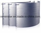 Diseño en relieve de soldadura láser eficaz la placa de refrigeración de la placa de intercambio de calor