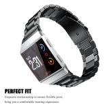 Três links faixa de relógio de aço inoxidável para Fitbit Ionic