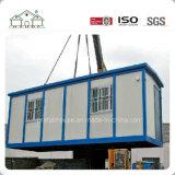 살기에 알맞은 두 배 층 설비 유리제 집 장비 조립식 편평한 팩 사무실 살아있는 집