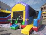 Castelo e corrediça Bouncy infláveis comerciais de salto infláveis baratos da casa
