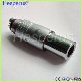 Acoplador Ti-Máximo dental Hesperus do diodo emissor de luz da fibra óptica de NSK Handpiece 6-Pin