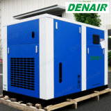 150/300 HP wässern geschmierter/Einspritzung ölfreier Oilless Schrauben-Luftverdichter