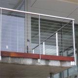 Frameless Glasgeländer und Balustrade im Freien