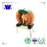 Inductor toroidal electrónico de la bobina de estrangulación del inductor de la potencia