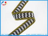 El patrón de logotipo personalizado Jacquard Tejido de poliéster