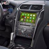Android 6.0 навигационного GPS для Ford Explorer Sync3 Video Interface литого стекла