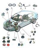 L'OEM di alluminio i ricambi auto della pressofusione con buona qualità