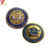 L'émail doux commémorative métalliques personnalisées Coin (YB-ty-93)