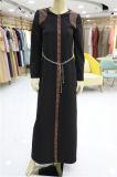 Middle Eastern Black musulman lâche Burqa printemps manteau à manches longues Abaya tenue vestimentaire islamique