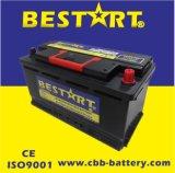 batteria DIN59615 del veicolo dell'automobile accumulatore per di automobile di 12V 96ah