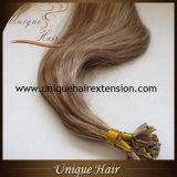 Extensões do cabelo da ponta do Virgin V do russo do piano do preço de grosso