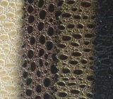 O PVC Shinny o couro com teste padrão bonito
