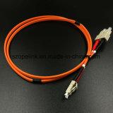 Cuerdas de corrección de fibra óptica del Sc del cable