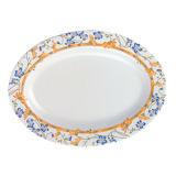 """Ovale Plaat Tableware/100% van de melamine van de """" Onzichtbare Reeks """" Melamine (WT316)"""
