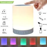 Lampe de table LED réveil pour le téléphone haut-parleur Bluetooth