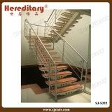 Pêche à la traîne d'escalier montée par côté d'acier inoxydable de modèle simple (SJ-H1321)